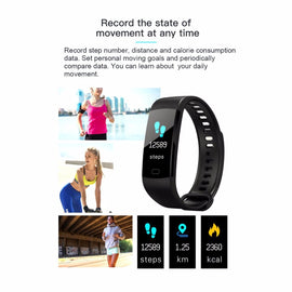 ONLENY Smart Band Pulsometer Fitness Smart Bracelet Activity Tracker Pedometer Health Sleep Smart Watch Vibrating Alarm Clock - RHIZMALL.PK Online Shopping Store.