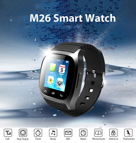 Smart Watch Seastrong Waterproof, Call Music Pedometer Fitness Tracker For Android