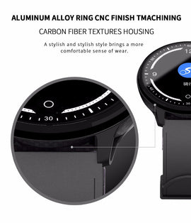 Smart Watch Color Screen Waterproof Wristwatch for IOS Android - RHIZMALL.PK Online Shopping Store.
