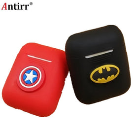 Cartoon Silicone Bluetooth Wireless Earphone Box - RHIZMALL.PK Online Shopping Store.