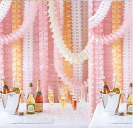 2pcs Paper Garlands wedding party decoration - RHIZMALL.PK Online Shopping Store.