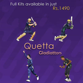 Quetta Gladiators PSL Oficial Kit - RHIZMALL.PK Online Shopping Store.