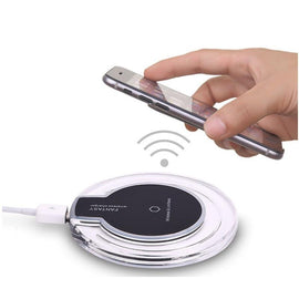 Fantasy QI Wireless Charger For Android with mirco USB charging receiver - RHIZMALL.PK Online Shopping Store.