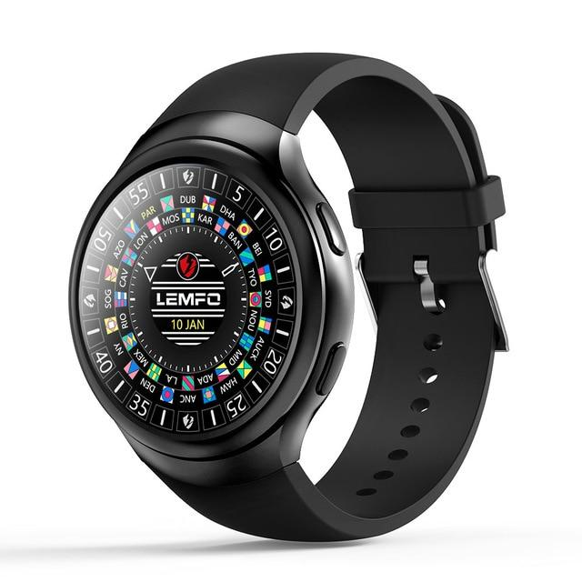 Fashion Smart Watch Android GPS SIM Heart Rate Monitor