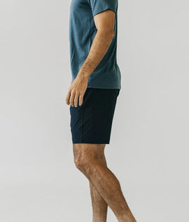 Graphite (Dark Navy) Plain Shorts - RHIZMALL.PK Online Shopping Store.