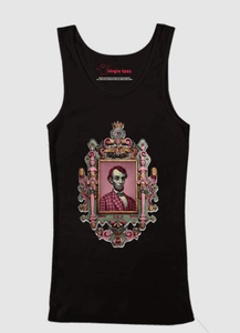 Abraham Lincoln Portrait Tank Top - RHIZMALL.PK Online Shopping Store.