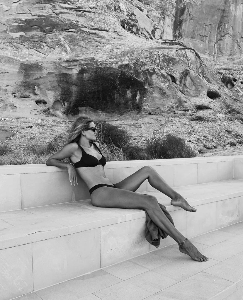 Fave celebrity swimwear brand / As seen on Rosie Huntington-Whiteley during her Utah road trip