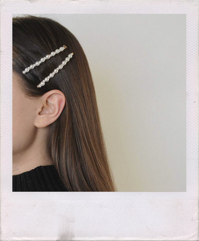 how to style hair pins