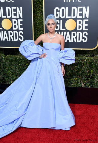 lady gaga 2019 golden globes red carpet