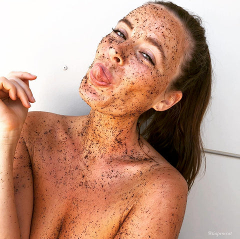 coffee scrub model