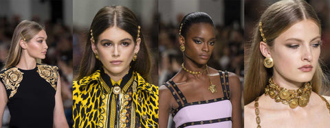 versace 2018 hair barrette