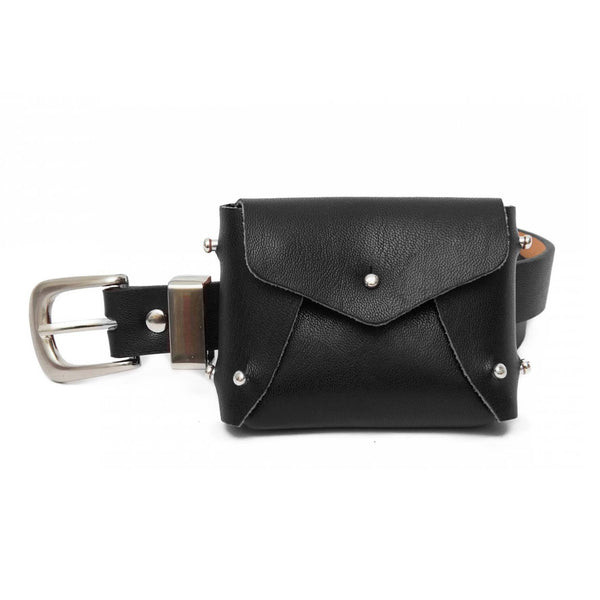 Black mini bag belt - Marble Hive