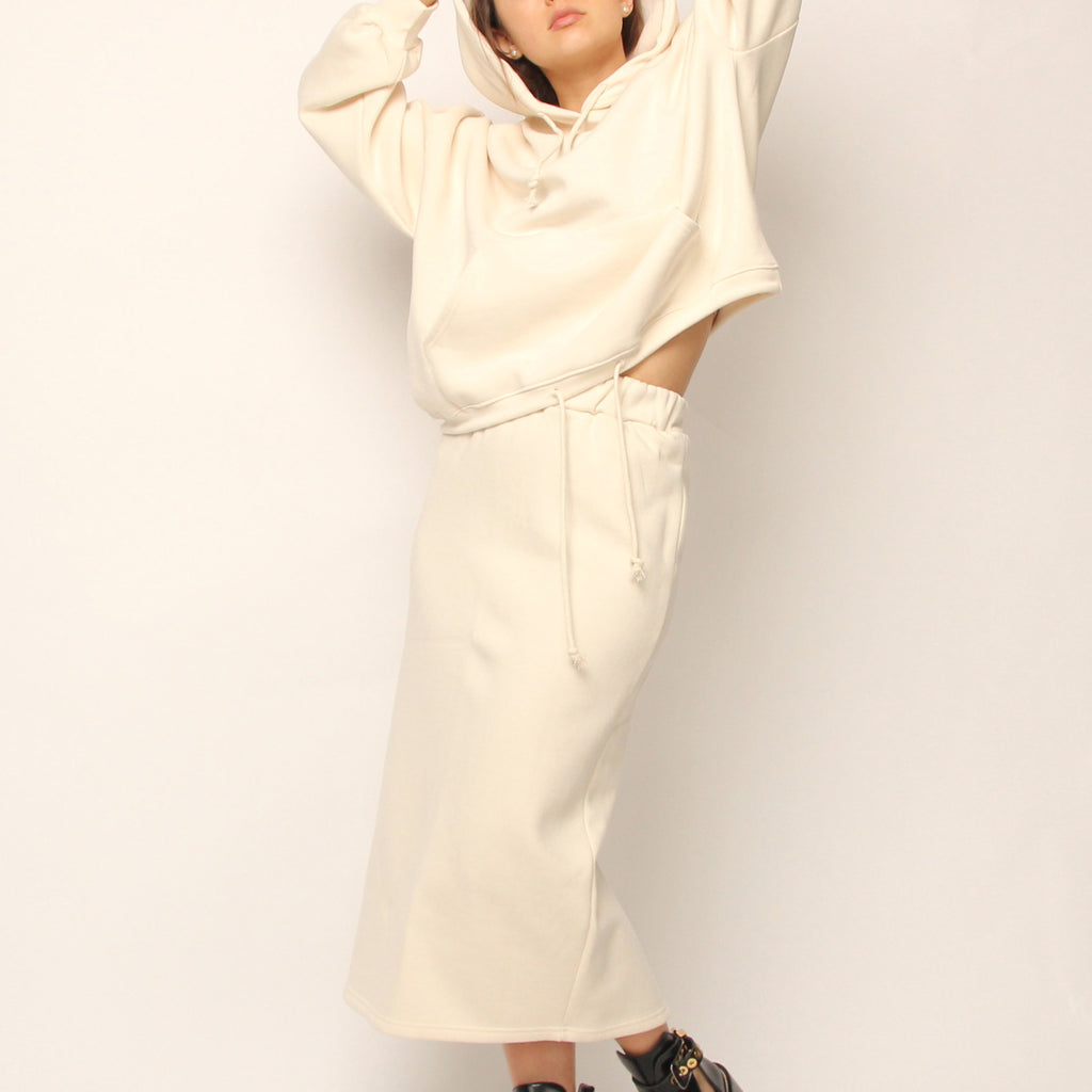 Hoodie and Skirt Set - Marble Hive