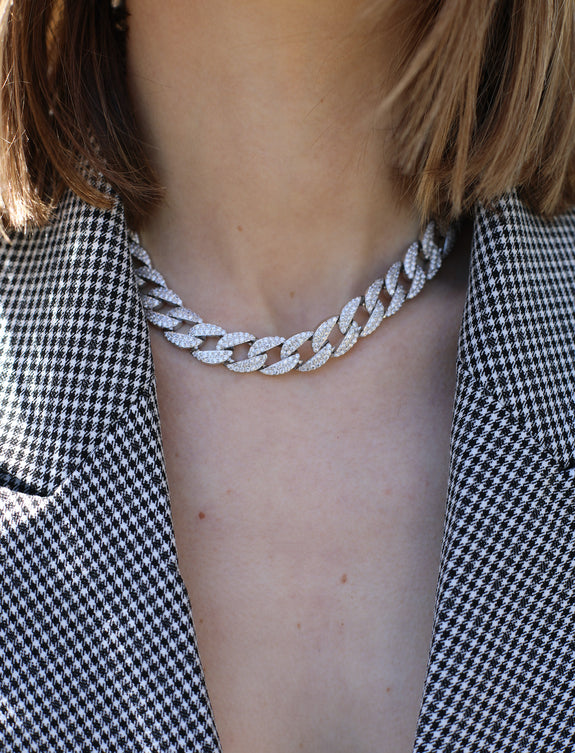 Chain Choker and Necklace - Marble Hive