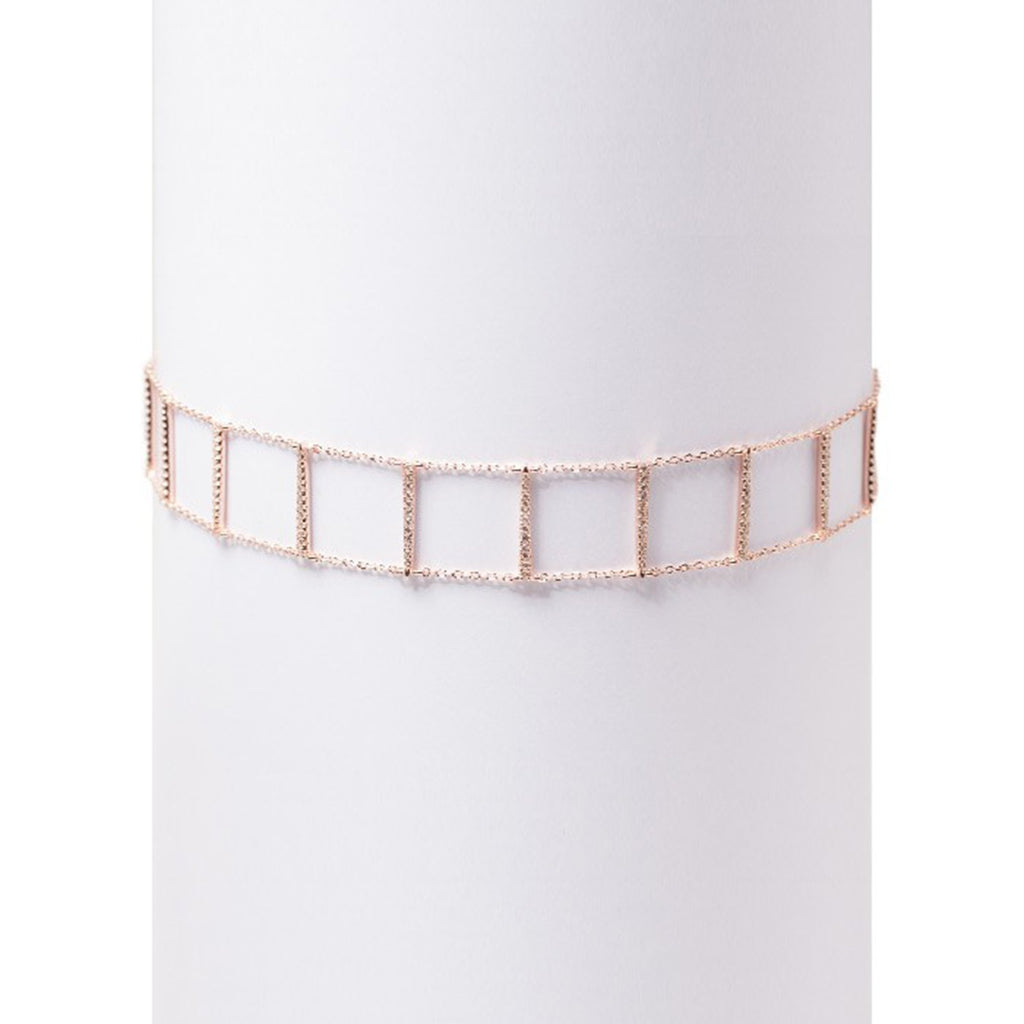 Choker Real Rose - Marble Hive