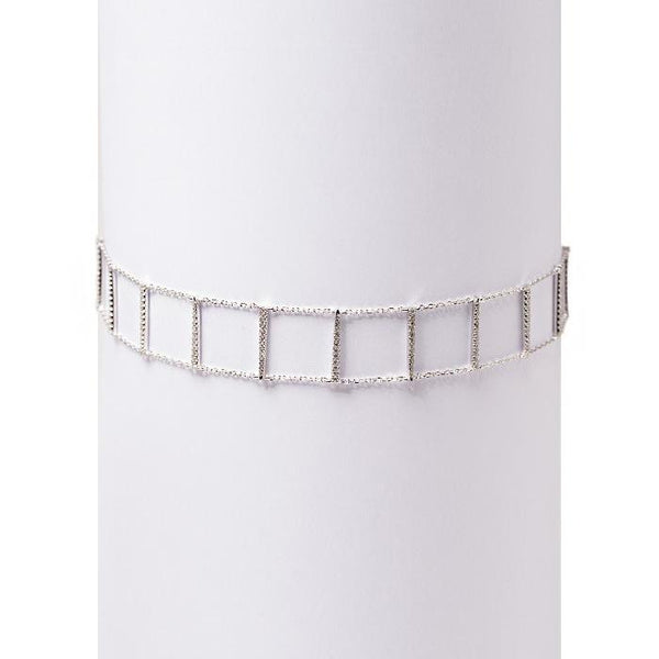 Choker Real Silver - Marble Hive