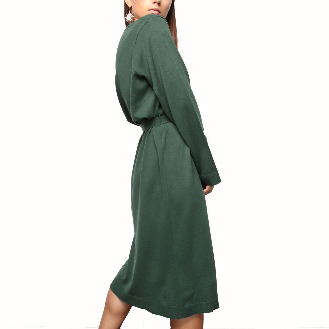 Emerald Knit Dress - Marble Hive