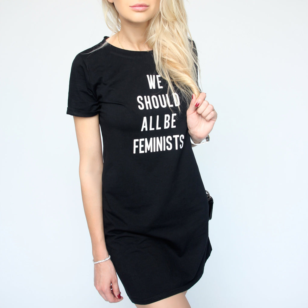 We Should All Be Feminists Black Set - Marble Hive