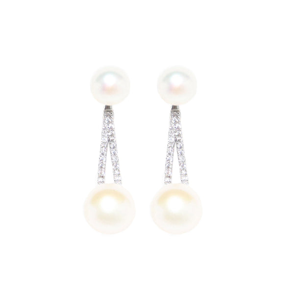 Pearly Earrings - Marble Hive