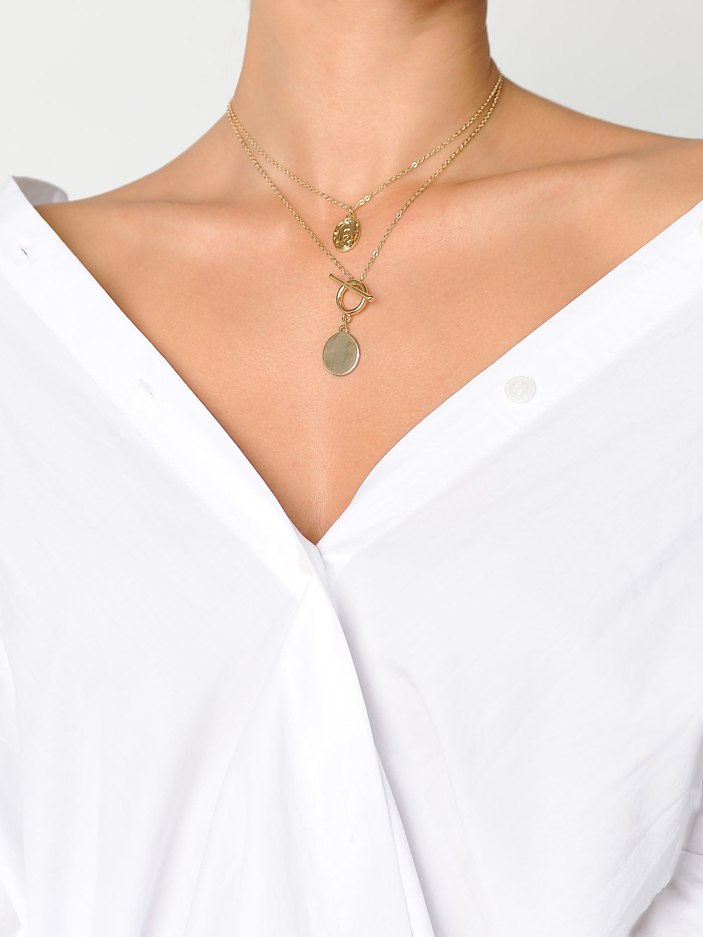 Holy Charm Necklace - Marble Hive