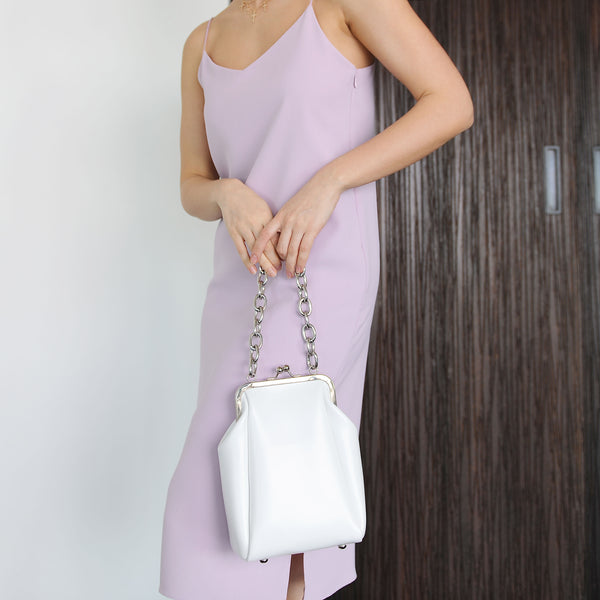 Lilac Slit Midi Slip Dress - Marble Hive