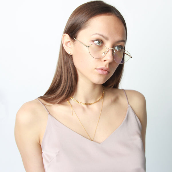 Lori Crystal Glasses - Marble Hive