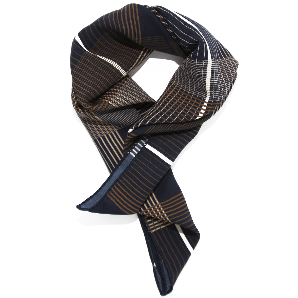 Check scarf/neck tie - Marble Hive