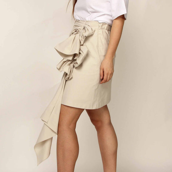 Original Beige Mini Skirt - Marble Hive