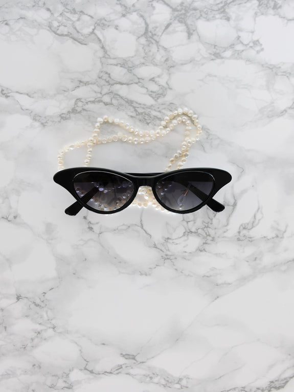 Pearl Sunglasses Chain Necklace - Marble Hive