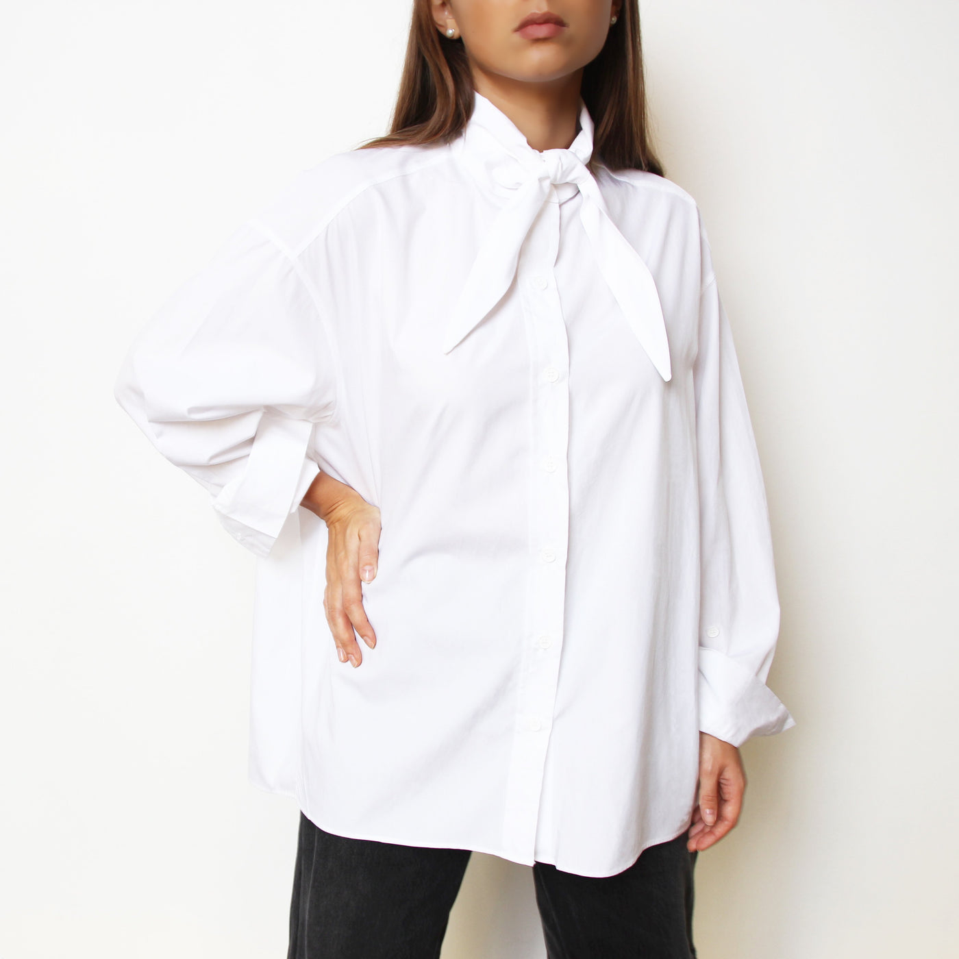 Neck Tie / Scarf Shirt - Marble Hive