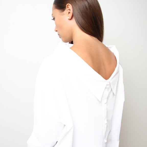 Two way white shirt - Marble Hive