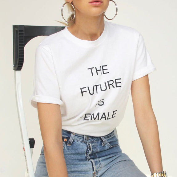 The Future Is Female T-Shirt - Marble Hive