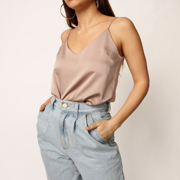 Beige Camisole Top - Marble Hive