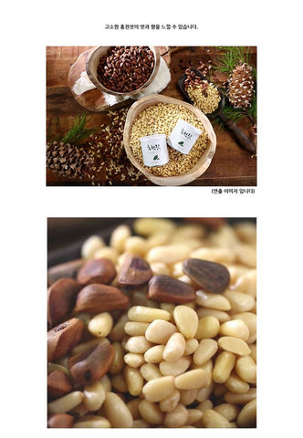 Korean Food Health HONG CHEON PINE NUTS KOREA NUTS 100g