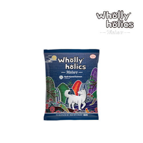 Wholly holics Nature Organic Salmon 200g