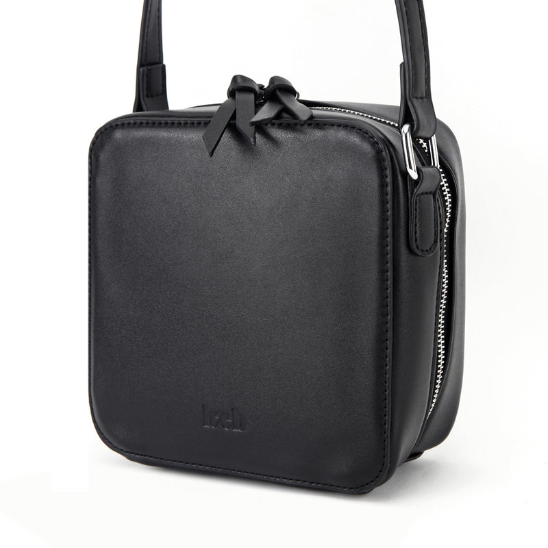 LVEB Mini Cross Body Bag - Black