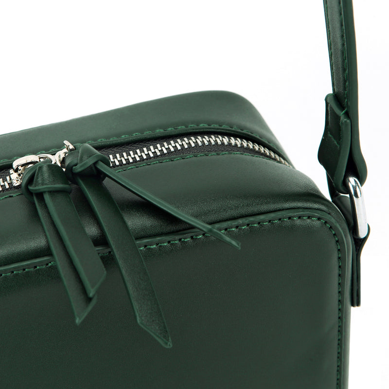 LVEB Mini Cross Body Bag - Dark Green
