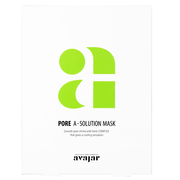 AVAJAR PORE A-SOLUTION MASK (10EA) - Dotrade Express. Trusted Korea Manufacturers. Find the best Korean Brands