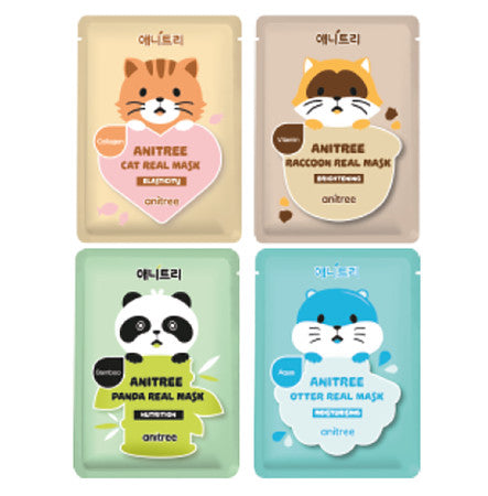 Animal Mask Sheet 4 Types - Dotrade Express. Trusted Korea Manufacturers. Find the best Korean Brands