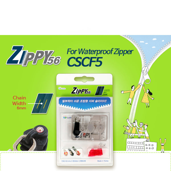 ZIPPY56 For Waterproof Zipper CSCF5