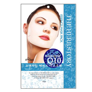 Coenzyme Q10 Essence Mask  (10 sheets / 200g) x 5 boxes