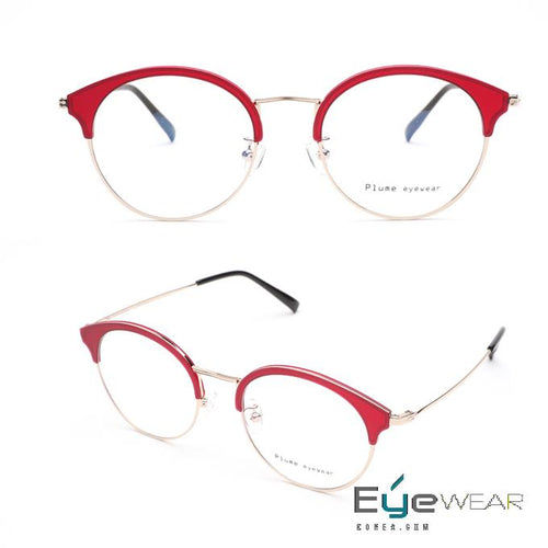 PLUME P-2739 Light as a feather and comfortable Eyewear Glasses