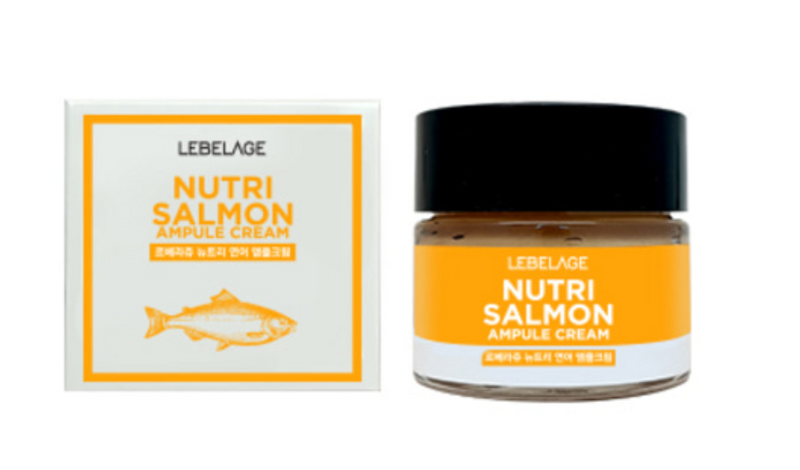 LEBELAGE Nutri salmon ampule cream - Dotrade Express. Trusted Korea Manufacturers. Find the best Korean Brands