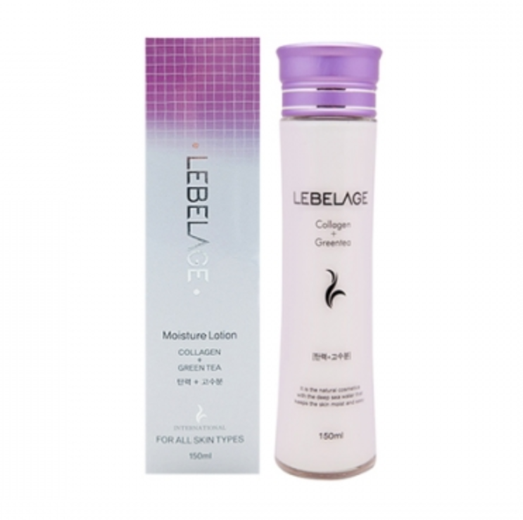 LEBELAGE Collagen + Green Tea Moisture Lotion - Dotrade Express. Trusted Korea Manufacturers. Find the best Korean Brands