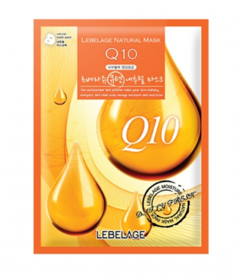 LEBELAGE Q10 Natural Mask (1p) - Dotrade Express. Trusted Korea Manufacturers. Find the best Korean Brands