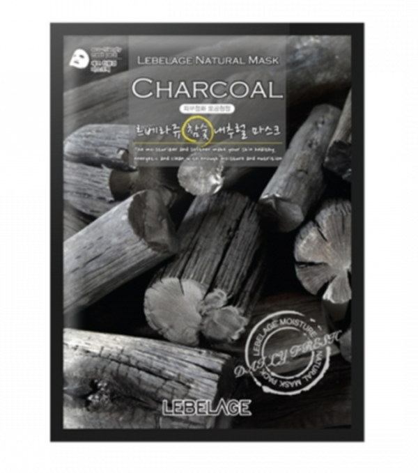 LEBELAGE Charcoal Natural Mask (1p) - Dotrade Express. Trusted Korea Manufacturers. Find the best Korean Brands