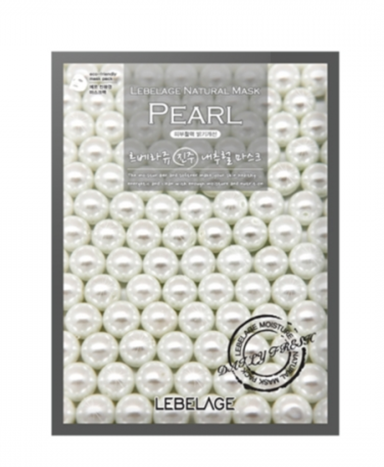 LEBELAGE Pearl Natural Mask (1p) - Dotrade Express. Trusted Korea Manufacturers. Find the best Korean Brands