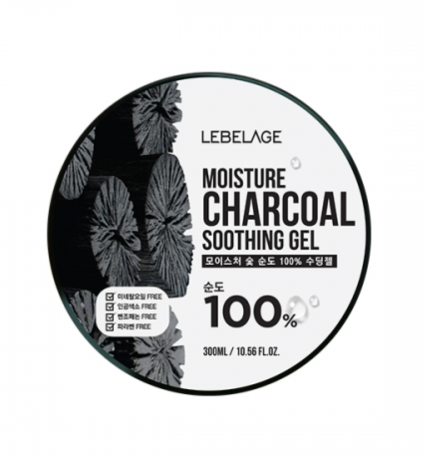 LEBELAGE Moisture Charcoal Purity 100% Soothing gel
