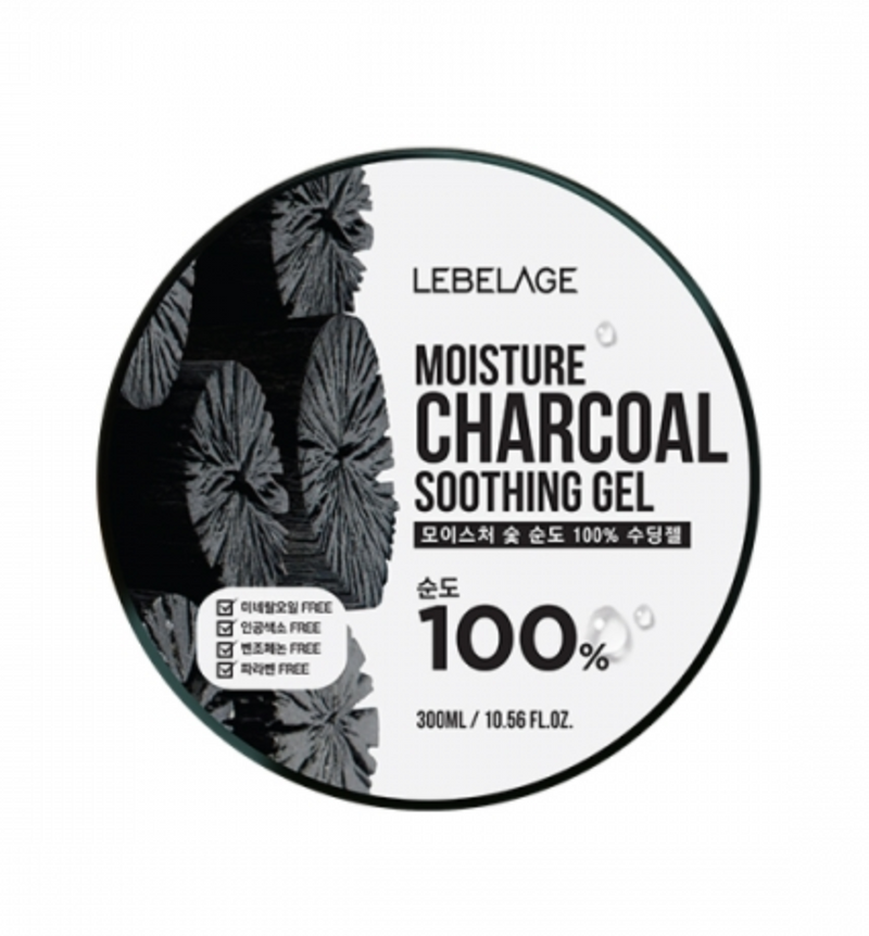LEBELAGE Moisture Charcoal Purity 100% Soothing gel - Dotrade Express. Trusted Korea Manufacturers. Find the best Korean Brands