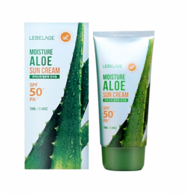 LEBELAGE Moisture Aloe Sun Cream - Dotrade Express. Trusted Korea Manufacturers. Find the best Korean Brands
